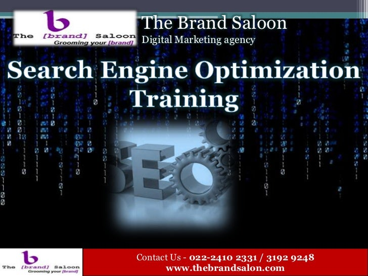 SEO training Course in Mumbai - The Brand Saloon