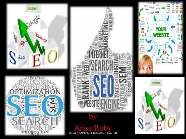 by Arise Roby  ARISE TRAINING & RESEARCH CENTER