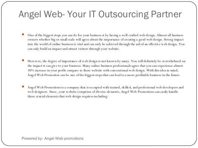 Angel Web Promotion- SEO Presentation