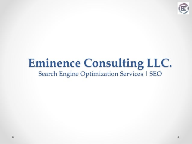 Eminence Consulting LLC. Search Engine Optimization Services | SEO