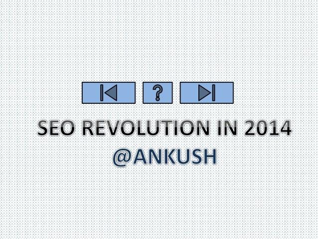 Seo revolution 2014