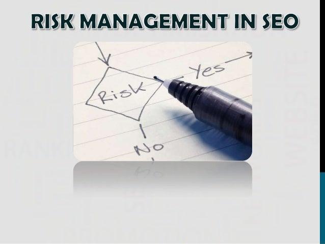 SEO Risk Management