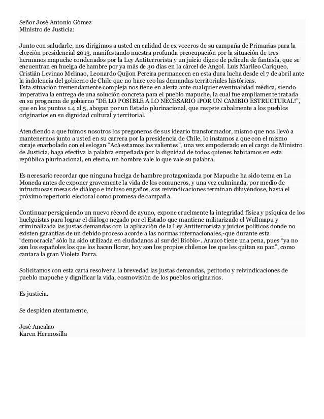 Carta abierta a José Antonio Gómez