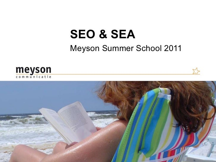 SEO & SEA Meyson Summer School 2011