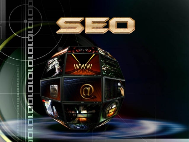 Seo search engine optimization ppt