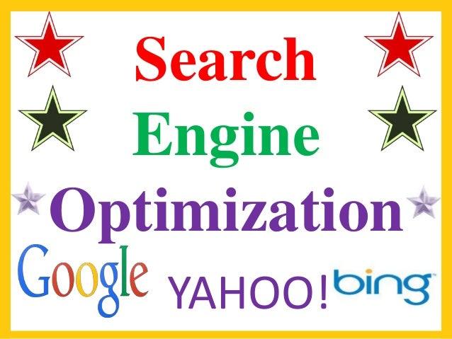 Search Engine Optimization YAHOO!