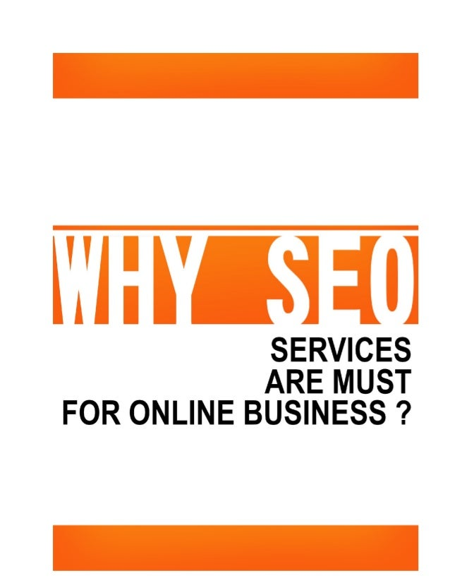 Why SEO services are a must for online business?