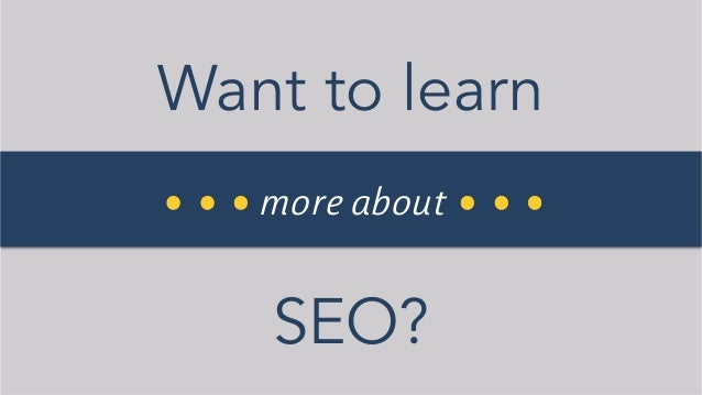 Step-by-step SEO learning for Beginners