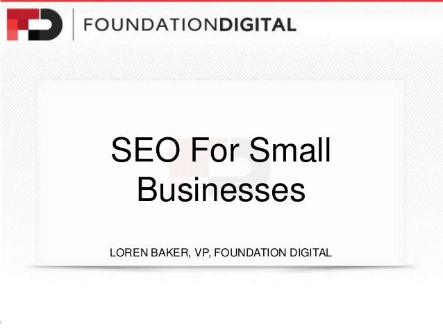 SEO, Linking & Authorship for Small Businesses