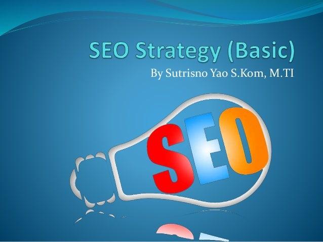 SEO Strategy (basic)