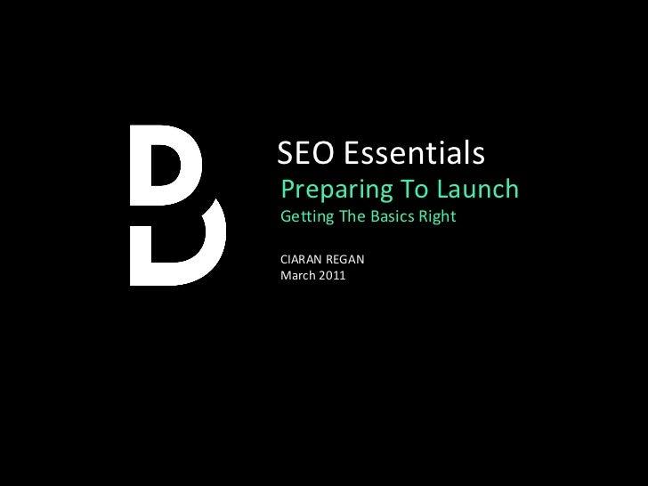 SEO Essentials - The Basics Explained
