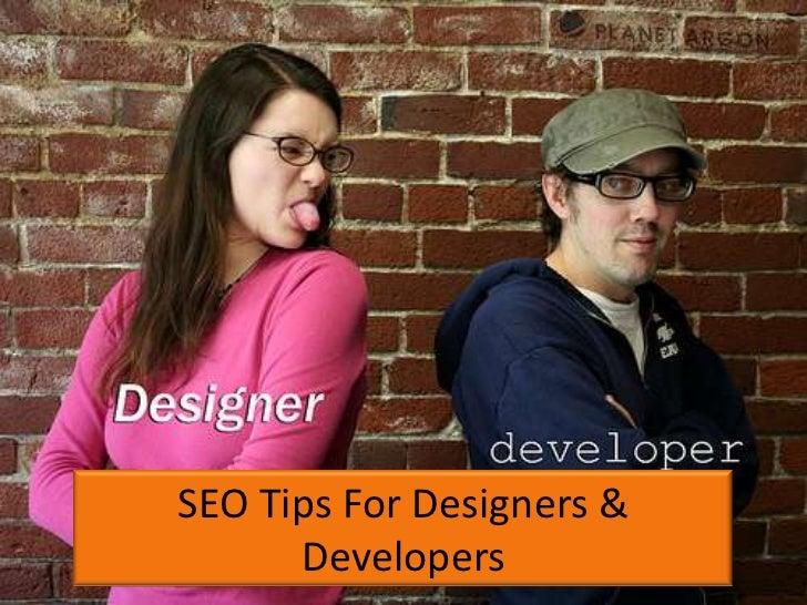 15 SEO tips for Designers