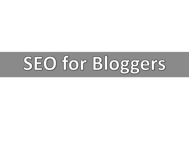 SEO Tips for Bloggers - EBriks Infotech