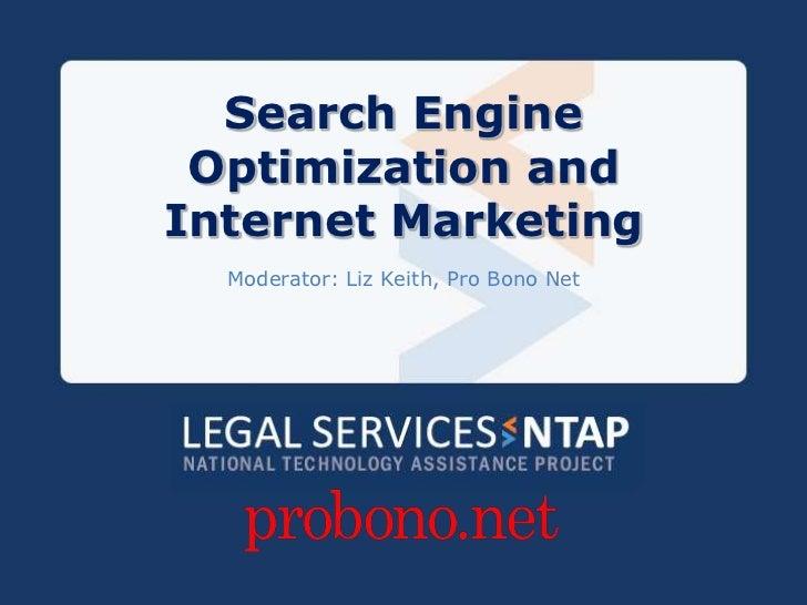 SEO and Internet Marketing PPT