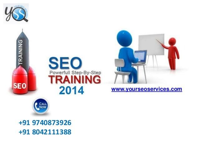 SEO Training in Bangalore