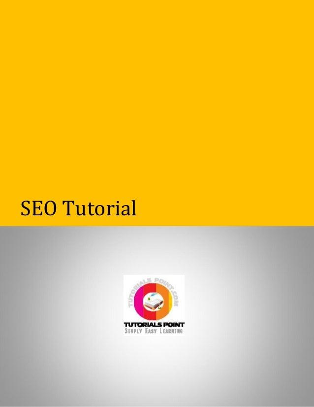 Seo tutorial 1