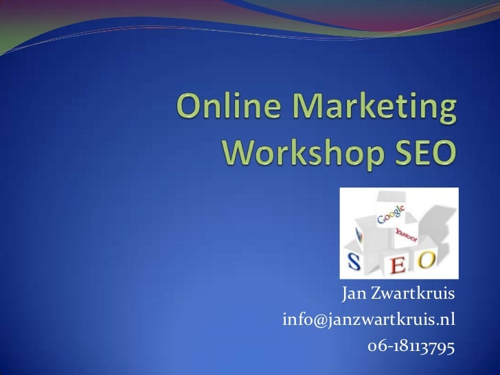 Seo workshop voor beginners
