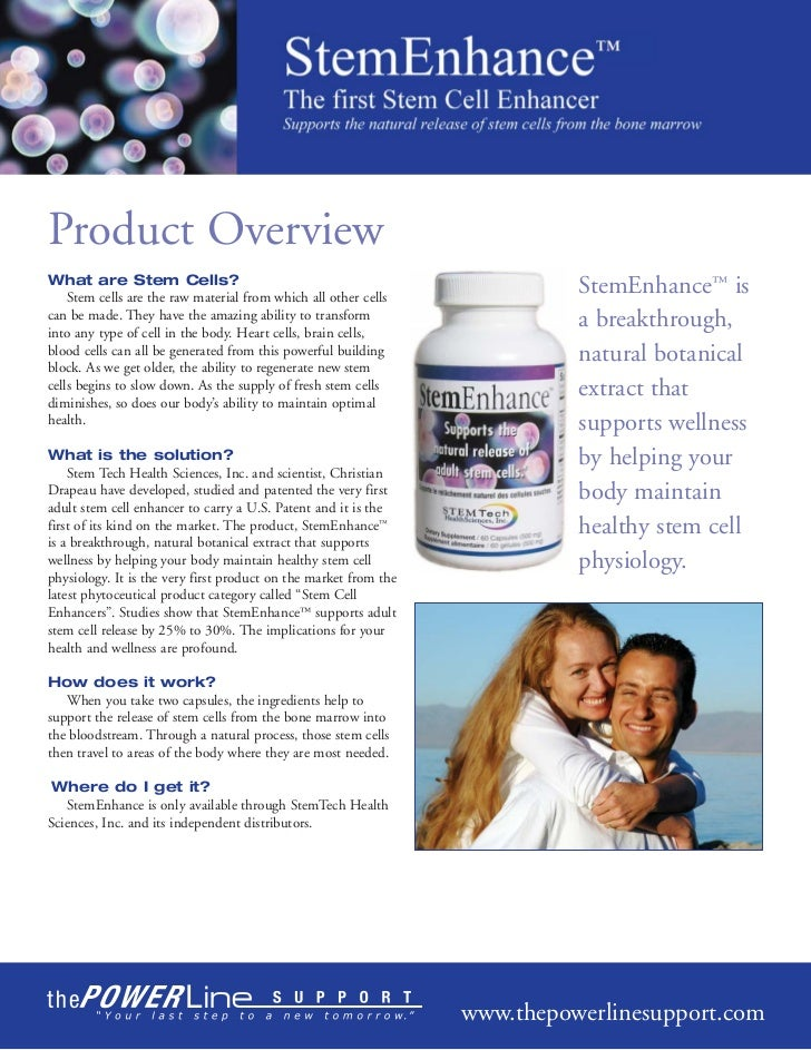 Product OverviewWhat are Stem Cells?    Stem cells are the raw material from which all other cells                        ...