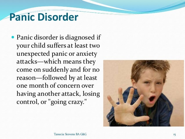 Seperation anxiety disorders