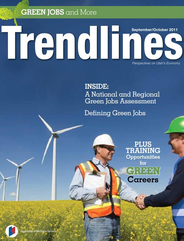 GrEEN JobS and More                                                 September/October 2011                                ...