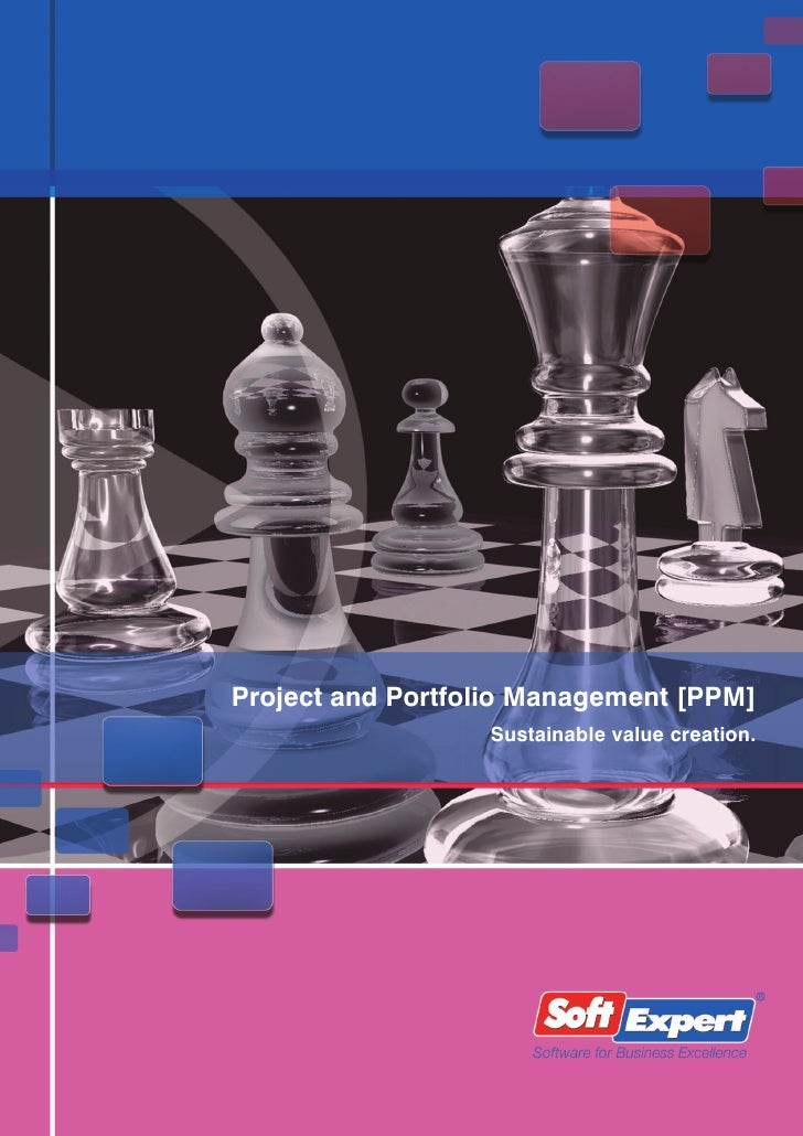 Project and Portfolio Management [PPM]                   Sustainable value creation.