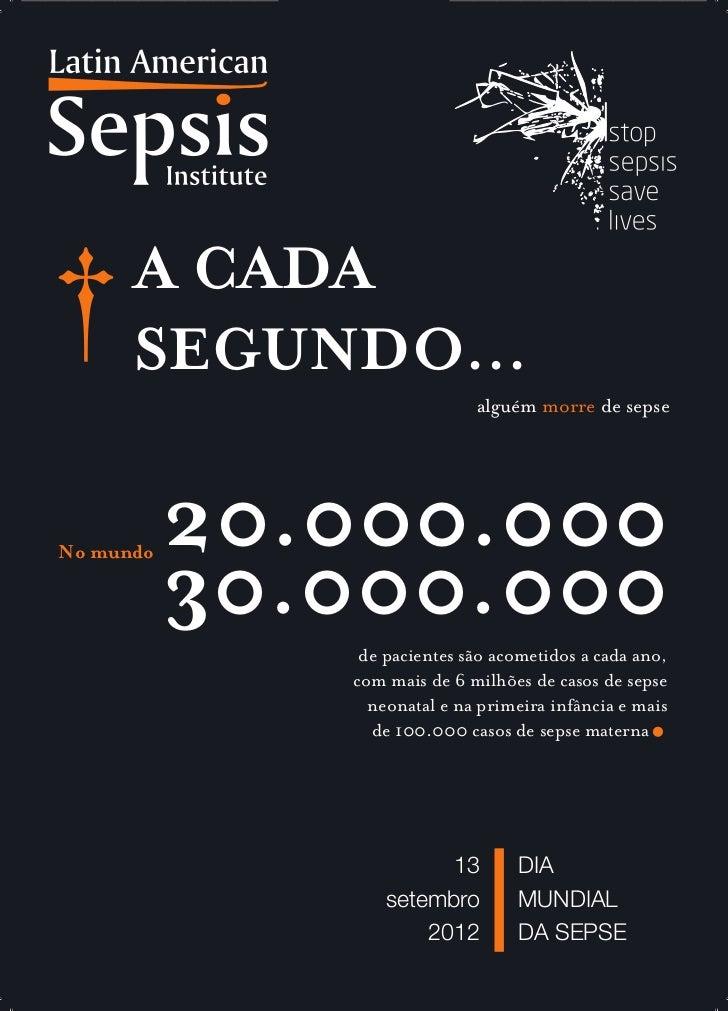 13 de Setembro: Dia Mundial de Combate à Sepse