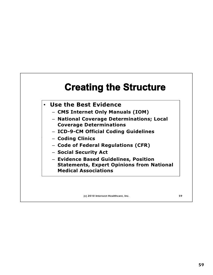cms critical care documentation guidelines
