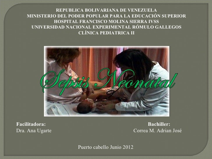 REPUBLICA BOLIVARIANA DE VENEZUELA    MINISTERIO DEL PODER POPULAR PARA LA EDUCACIÓN SUPERIOR             HOSPITAL FRANCIS...