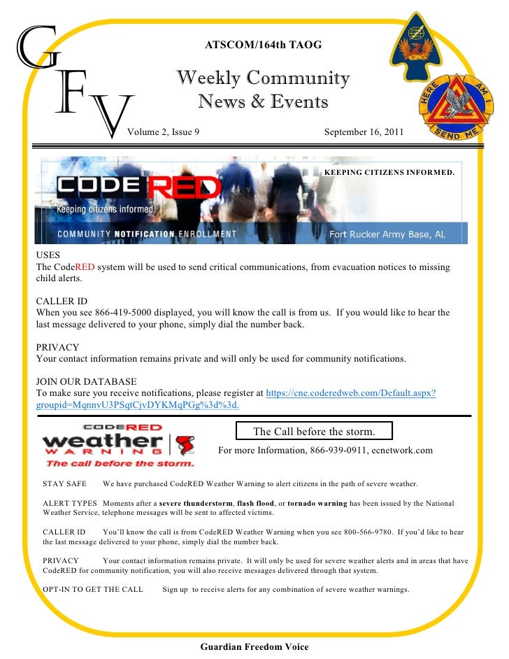 Weekly Community News & Events