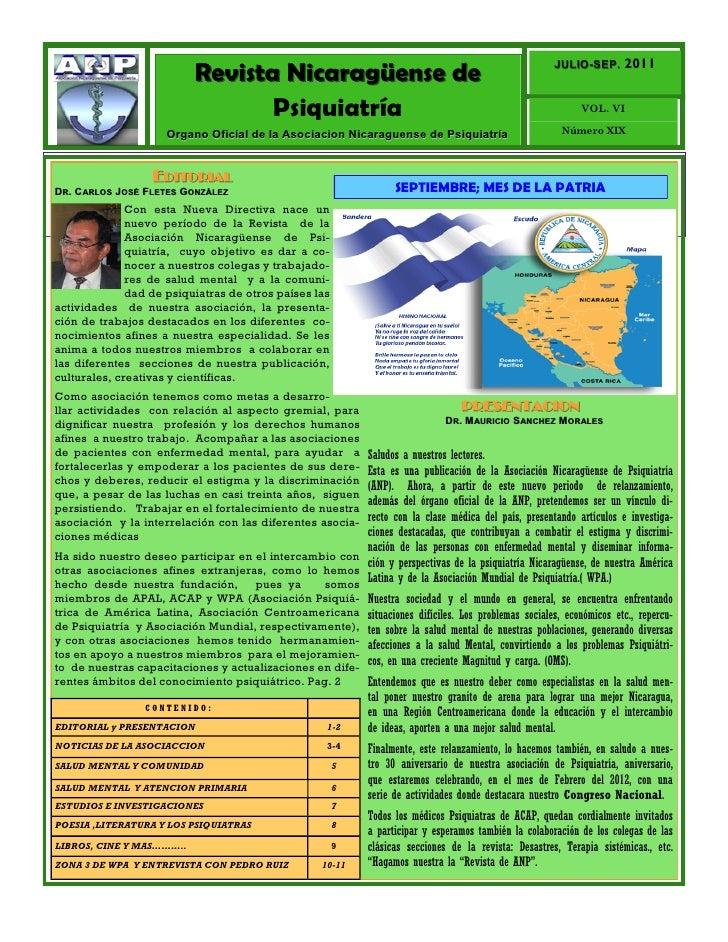 JULIO-SEP. 2011                            Revista Nicaragüense de                                                        ...