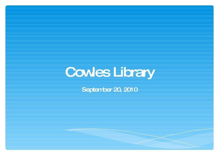 Sept20 2010 presentation