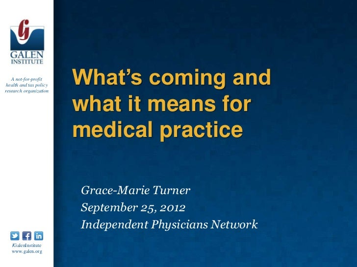 Independent Physicians Network 9/25/12