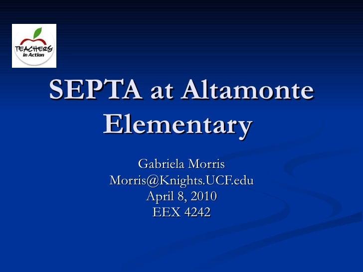 SEPTA at Altamonte Elementary _ Teachers In Action