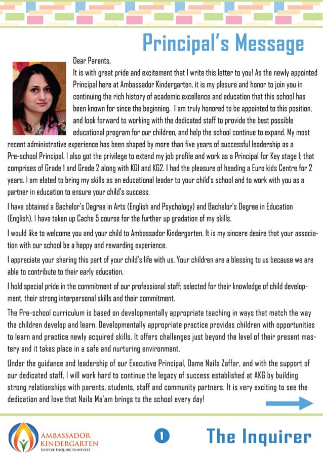 Best Kindergarten in Dubai Newsletter - September 2014