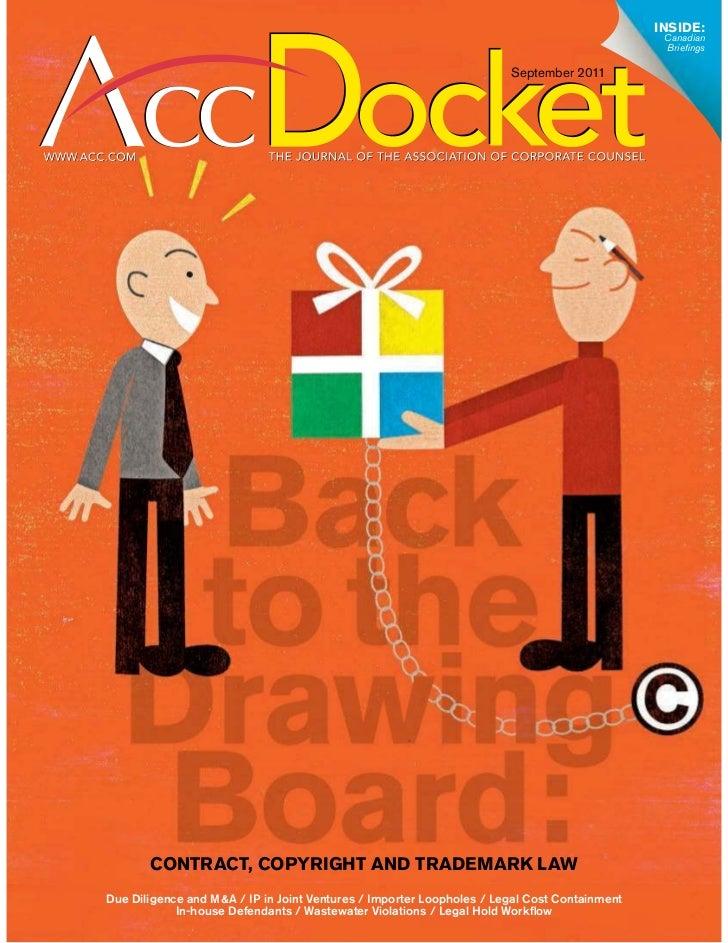 September 2011 Acc Docket  Due Diligence & Your M&A Success Story Fletcher Gottfried