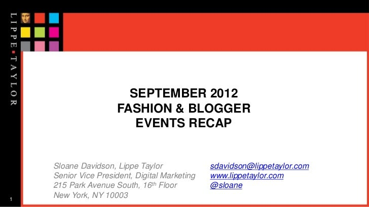 LuckyFabb, IBF, NYFW & FNO: The best of what's to come with fashion, lifestyle and beauty bloggers.