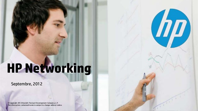 HP Networking - Septembre 2012