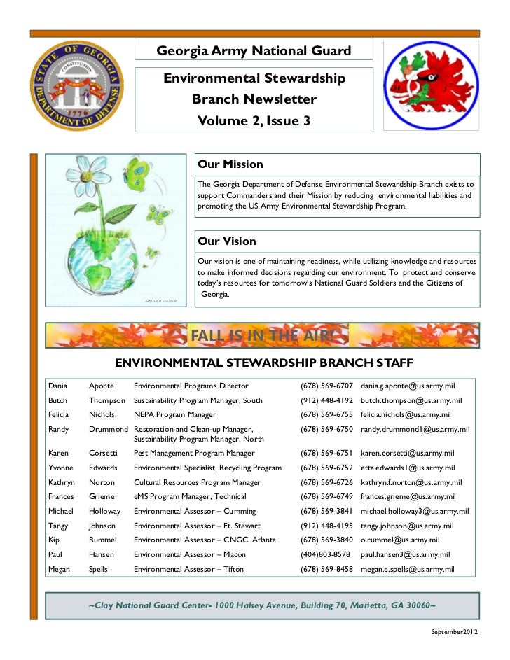 September 2012 georgia army national guard environmental newsletter_v2_issue3