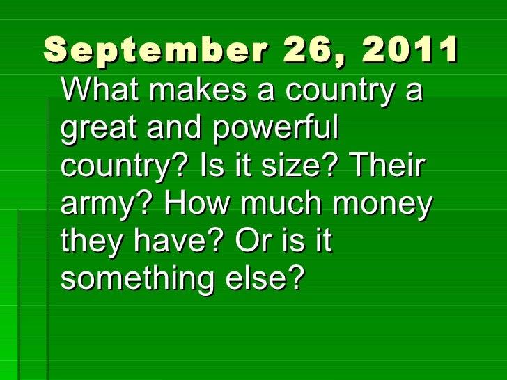 September 26, 2011