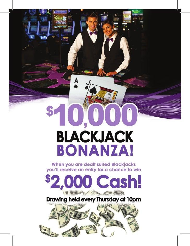 September blackjack bonus