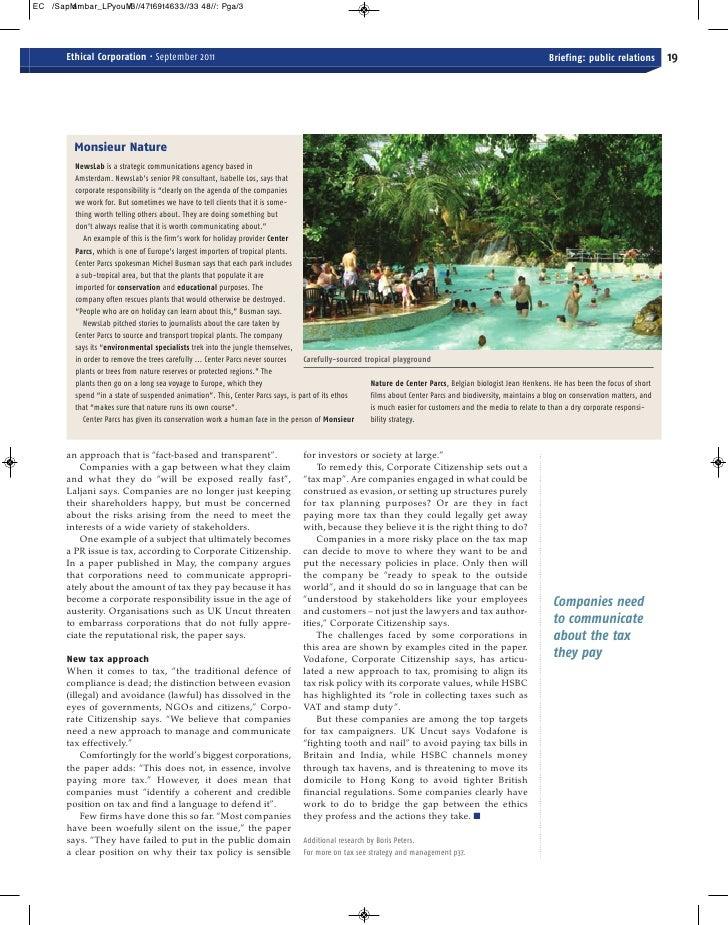 September Ethical Corporation magazine - Part 2