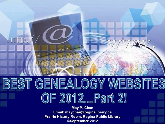 Best Genealogy Websites of 2012: Part 2