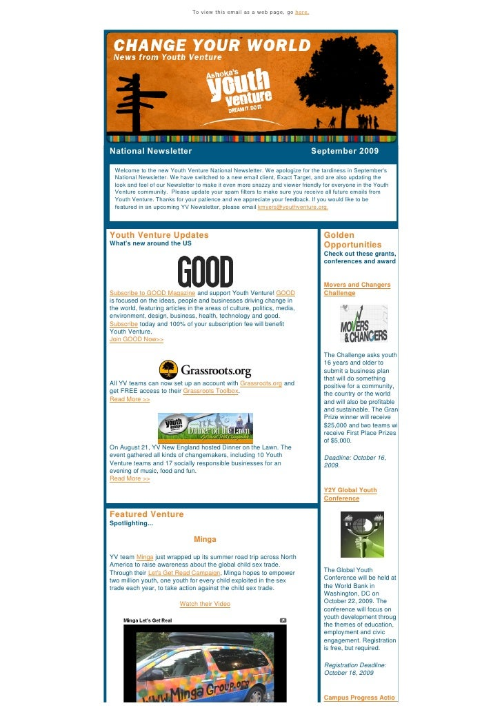 To view this email as a web page, go here.     National Newsletter                                                Septembe...