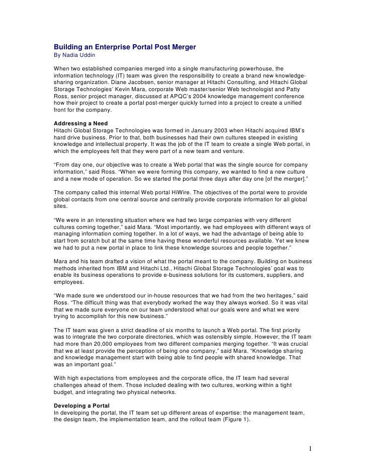 Global Portal Case Study_APQC 9.04