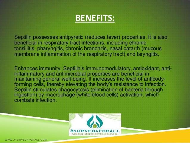 Septilin Tablets Benefits