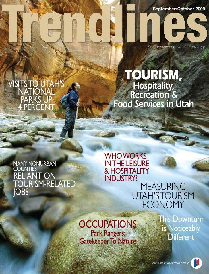 September/October 2009                                               Perspectives on Utah's Economy     vISITS TO UTAh'S  ...