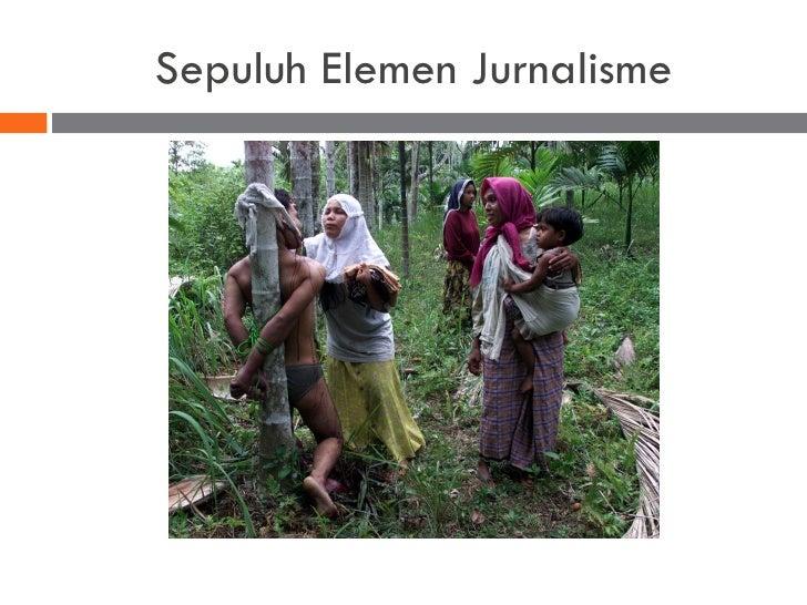 Sepuluh Elemen Jurnalisme