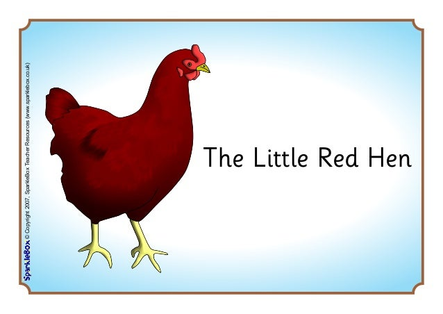 Sequence cards for Little Red Hen