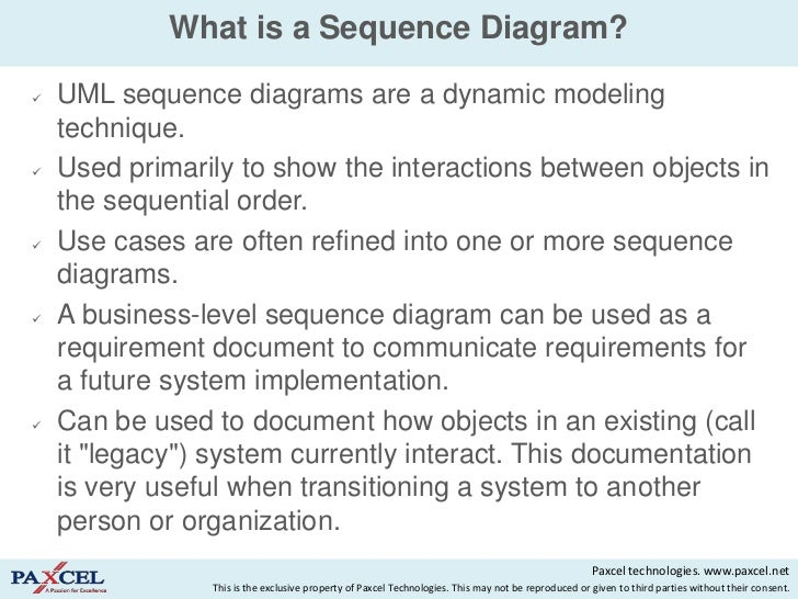 sequence diagrams in uml   what is a sequence diagram