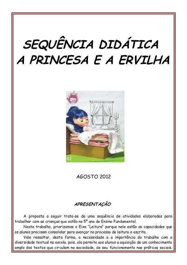 Sequencia didatica a_princesa_e_a_ervilha